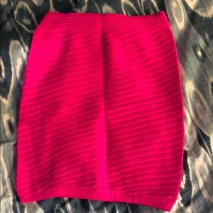 Skirt or top. You decide. Hot pink and sexy!